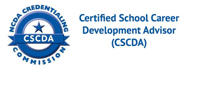 Certified School Career Development Advisor